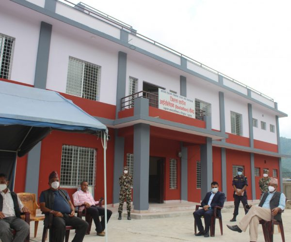 प्युठानमा बल्ल बन्यो जिल्लास्तरीय आइसोलेसन केन्द्र : फ्लोअप